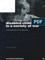 Disabled Children in a Society at War