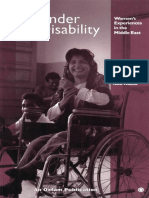 Gender and Disability