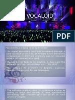 Vocaloid presentation