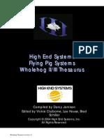 Jands WholeHog II III Thesaurus