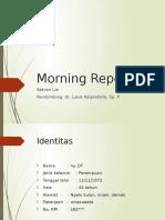 Morning Report 2-2-17 CHF + hipertiroid