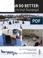 Senate committee report on housing in Inuit Nunangat