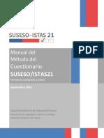 Anexo 1 Circular 3243 - Manual Del Metodo Del Cuestionario SUSESO ISTAS 21