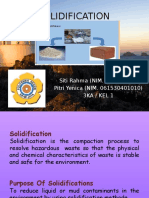 Solidification PROCESS PPT