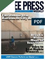 Albuquerque Alternative Newspaper - ABQ Free Press 3-1-17 - News, Analysis, Arts and Entertainment