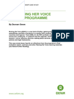 The Raising Her Voice Global Programme