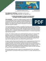 7 8 2010 FDOH Establishes Oil Impact Notice Guidance