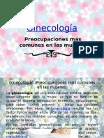 Ginecología, preocupaciones más frecuentes