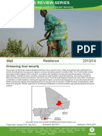 Resilience in Mali