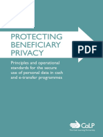 Protecting Beneficiary Privacy