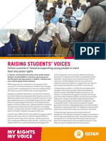 Raising Students' Voices