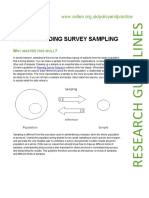Understanding Survey Sampling