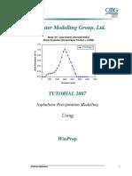 06C_Winprop-Asphaltene Case Study