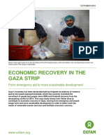 Economic Recovery in the Gaza Strip