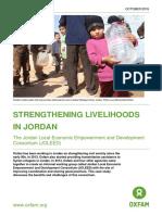 Strengthening Livelihoods in Jordan