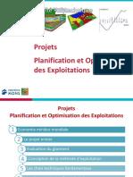 GMIN013 Projets Plan