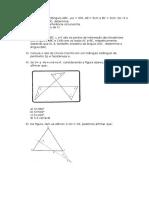 Lista 1 - Geometria