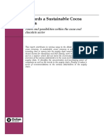 Towards a Sustainable Cocoa Chain