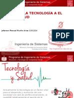 Aportes de La Tecnologia Al Sector Salud