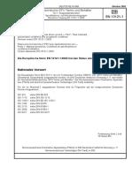 [DIN en 13121-1-2003-10] -- Oberirdische GFK-Tanks Und -Behälter - Teil 1- Ausgangsmaterialien; Spezifikations- Und Annahmebedingungen; Deutsche Fassung en 13121-1-2003