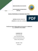 Union de Cerveceras Peruanas Backus y Johnston s.a.a. - Reporte Financiero