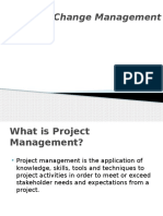 ProjectManagement Short