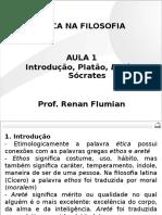 OAB - Ética Na Filosofia - Aula 01 Introdução, Platão, Diké e Sócrates