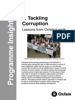 Tackling Corruption
