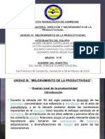 UNIDAD III DE MEDICIÓN Y MEJORAMIENTO DE LA PRODUCTIVIDAD (1).pptx