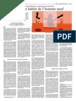 """Le Monde Diplomatique 2017-03-7, page 7 """"EMMANUEL MACRON, LA FINANCE ET LE POUVOIR - Les vieux habits de l'homme neuf"""""""