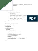 Fazer um algoritmo que possa entrar com o saldo de uma aplicação e imprima o novo saldo.docx
