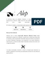 Apostila 1 a Letra Aleph