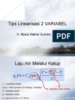 Tips Linearisasi 2 VARIABEL.ppt