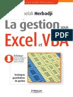 La Gestion Sous Excel Et VBA