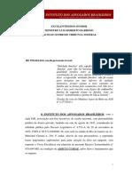 RE 878.694 - Petição Instituto Dos Advogados Brasileiros