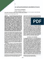 Wavelength Mitations and Posttrnslational Autoxidation of Green Fluorescent Protein