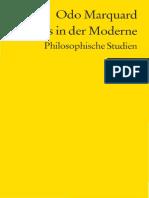 Odo Marquard-Skepsis in Der Moderne. Philosophische Studien -Reclam (2007)