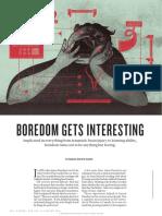Boredom Gets Interesting