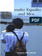 Gender Equality and Men