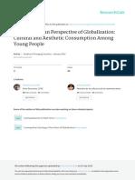 Cicchelli e Octobre - A Cosmopolitan Perspective of Globalization