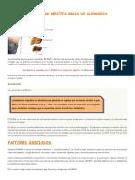 Esteatosis y Cirrosis