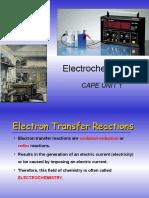 CAPE Electrochemistry