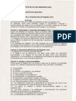 Anteproyecto Ley Registro Civil
