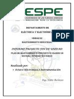 Proyecto Final Mantenimiento Industrial