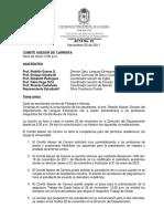 Acta 22 Del 22 de Noviembre de 2011