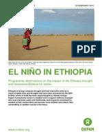 El Niño in Ethiopia