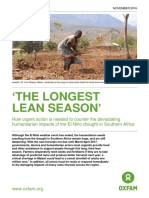 'The Longest Lean Season'