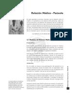 MED.legaL VII. Capitulo 3. Relacion Medico-Paciente