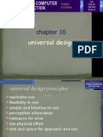 Chapter 10. Universal Design