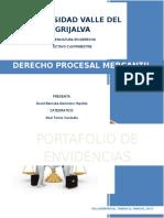 Portada de derecho procesal mercantil